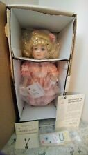 Molly 16'' Limited Edition Porcelain Doll #303/5000 by Marie Osmond In Orig Box