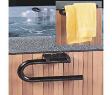 Leisure Concepts Spa & Hot Tub Mounted Towel Bar - Black Powder Coated