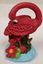 Flamingo Lifelike Red Pink Bird Figurine Statue Garden Terrarium Decor #2