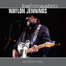 Waylon Jennings - Live From Austin TX [CD]