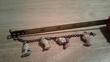Charm Bracelet , Howdy Doody, Clarabell & Phineas T. Bluster  Dilly Dally