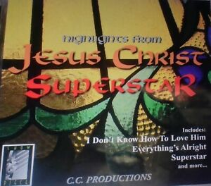 Highlights from Jesus Christ Superstar [1996 Made in Canada] CD Disc Only C3