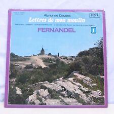 """33T LETTRES DE MON MOULIN N° 1 Vinyle LP 12"""" FERNANDEL A. DAUDET - DECCA 115017"""