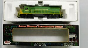 Atlas HO Scale Silver GP-38 Reading and Northern DCC
