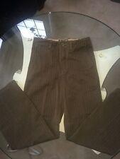 Boys Gap Kids 12 Army Green Pinstripe Dress Pants