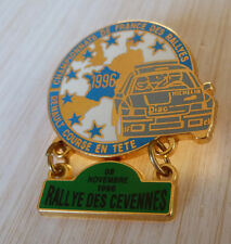 PIN'S RALLYE DES CEVENNES TEAM DIAC MICHELIN RENAULT CLIO WILLIAMS FRANCE 1996