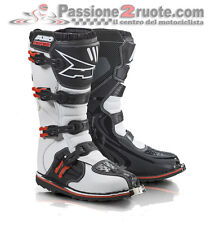 Boots moto cross Axo Drone MX white red Limited off road motard size 48