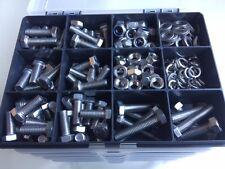 M8 en acier inoxydable Assortiment Boulons Écrous Vis & Rondelles A2 DIN 933 Kit 310 pcs