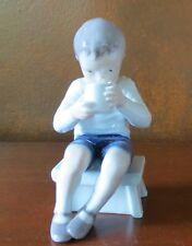 Royal Copenhagen Victor Boy Drinking Milk #418 Figurine Denmark Ht