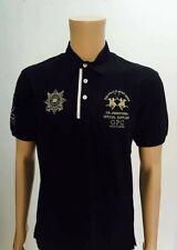 "LA MARTINA GUARDS Men's Polo T-Shirt, Short Sleeve 100% cotton, ""L"""