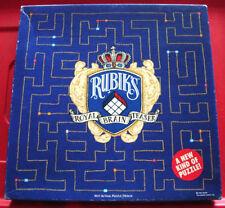 Rubik's Royal Brain Teaser 441 PC HIDDEN séquence Jigsaw Puzzle + Conseils notice