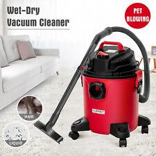 Portable 5.3 Gallon 3-in-1 Wet Dry Vacuum Cleaner Vac Shop 3.5 Peak HP w/ Blower