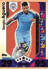 Premier League Manchester City Football Trading Cards