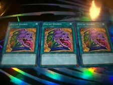 3x Pot of Desires 1st Edition Common SDSA-EN029 Yu-Gi-Oh!