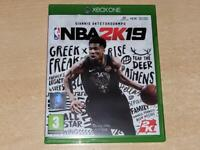 NBA 2K19 Xbox One UK Game (No Manual) **FREE UK POSTAGE**