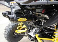 BARKER 3/4 DUAL EXHAUST SYSTEM BLACK + YELLOW TAG CANAM CAN AM MAVERICK 1000 13