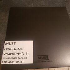 Muse - Exogenesis 1-3 Vinyl LP 2010 RSD EXCLUSIVE 1/2000 VG+