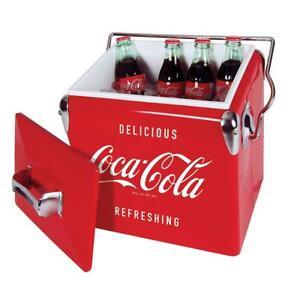 Koolatron Coca-Cola Vintage Ice Chest 13L, Red