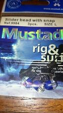 Mustad sea fishing slider bead .size l