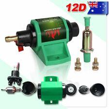 "12D Universal Diesel Micro Electric transfer Pump 4-7 PSI 35GPH 5/16"" Hose Barbs"