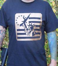 Lady Liberty w AK Guns Rights Shirt 2nd Second Amendment Pro Gun 2A Pistol SZ XL