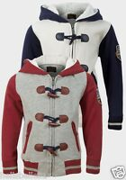 BOY'S SOUL&GLORY FLEECE LINED  BASEBALL JACKET WITH TOGGLES 3 4 5 6 7 8YRS