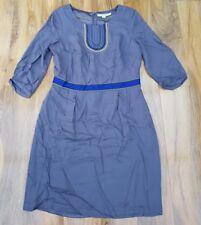 Boden Ladies GORGEOUS Carla Dress – UK Size 14R. Pewter Grey WH698