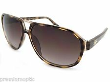 LACOSTE Square Aviator Sunglasses Brown Tortoise / Brown Gradient NEW L715S 214