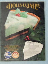 1990 Magazine Advertisement Ad Page Cool Whip Keebler Ready Crust Pie Recipe
