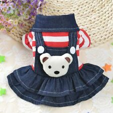 Dog Jumpsuit Clothes Winter Warm Fashionable Yorkie Chihuahua Bear Costumes Coat