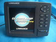 Lowrance Globalmap 5300C iGPS GPS (Only head & sun cover ,no other accessories )