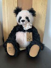 Robin Rive Pandy Rose Bear Limited Edition HTF
