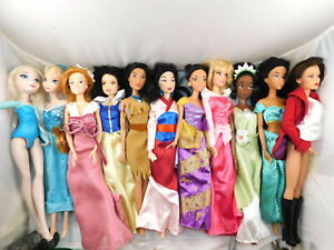 Lot Of 11 Disney Princess Snow White Mulan Jasmine And More