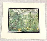 1983 Vintage Stampa The Inverno Giardino Veranda Romanov Royal Palazzo Interno