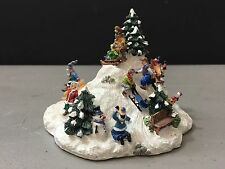 "Liberty Falls ""The Sledding Party"" Ah400 Mint Condition!"