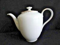 Vintage Winterling Bavaria 7 Cup White w/ Gold Trim Coffee Pot VGUC