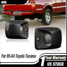 For 1995 2004 Toyota Tacoma Super White License Plate Light Lens Led Lamp Bulbs