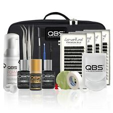 QBS® Eyelash Extension Starter Kit/Set Professional - Loventure® Silk Lash