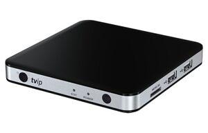 TVIP S-BOX v.605 4K HEVC HD Multimedia Streamer Android 6.0 / Stalker