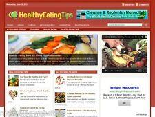 Healthy Eating / Balanced Diet Niche Wordpress Blog Website For Sale!