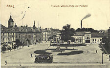 Elbing, Ostpreussen -Friedrich Wilhelm-Platz mit Postamt, Ansichtskarte von 1916