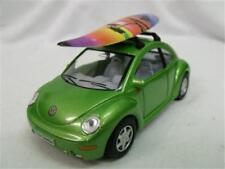 Volkswagon Beetle Die Cast Car 1:26 Scale withSurfboard
