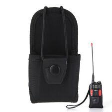 Durable Nylon Holster TwoWay Radios Walkie Talkie Waist Chest Holder Hanging Bag