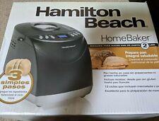 Hamilton Beach 29882 2-Pound Automatic Bread Maker Machine Gluten Free Option !