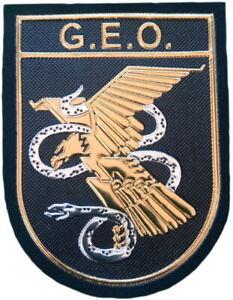POLICÍA NACIONAL CNP GEO TEXFLEX PARCHE INSIGNIA POLICE MEMORABILIA EB01441