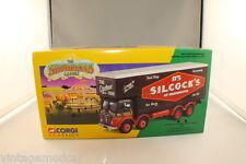 Corgi Classics  Foden Closed Pole Truck Set Silcock's of Warrington #12601 NMIB