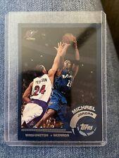 Michael Jordan 2002-03 Topps Card # 10 Washington Wizards Basketball GOAT
