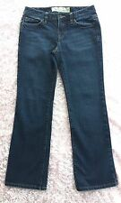 Ann Taylor Loft Original Boot Cut Jeans Size 4P Dark Wash EUC