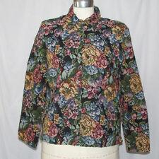 Lemon Grass Coat Jacket Blazer Tapestry Floral Size Medium