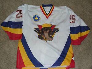 BCHL Vernon Vipers Vintage Game Worn Hockey Jersey LaCasse #25